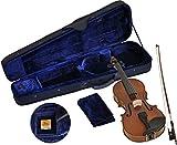 Steinbach 1/16 Linkshänder Geige im Set handgearbeitet inklusive Koffer und Bogen