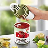 Touch and Go automatischer Dosenöffner, Metall / Kunststoff, rot, 18 x 7 x 6 cm - 4