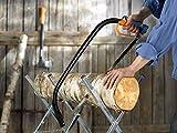 Fiskars Bügelsäge mit feststehendem Blatt für feuchtes Holz, Länge 70 cm (24 Zoll), Inklusive Sägeblattschutz, Hochwertiger Stahl, Schwarz/Orange, SW31, 1000615 - 2