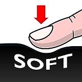 Maped - Linkshänder-Schere SENSOFT, 16 cm, flexible und ergonomische Griffe, spitz - rot-schwarz, blau-schwarz, pink-schwarz - 8