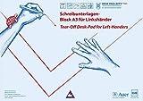 Schreibunterlagen-Block DESK-PAD LEFTY®, DIN A3, für Linkshänder: Alle Klassenstufen (Linkshändigkeit)