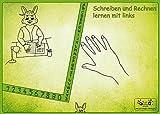 """Linkshänder Schreibunterlage """"Hasenpapa"""": Linkshänder erlernen die gesunde Schreibhaltung"""