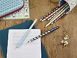 Ergonomischer Dreikant-Bleistift für Linkshänder - STABILO EASYgraph in blau - 2er Pack - Härtegrad B - 7