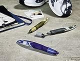 Ergonomischer Tintenroller für Linkshänder - STABILO EASYoriginal Marbled Colors Edition in beere - Schreibfarbe blau (löschbar) - inklusive Patrone - 4