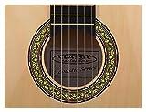 Classic Cantabile Acoustic Series AS-851-L Klassikgitarre 3/4 für Linkshänder (Kinder, Schüler, Einsteiger, 6 Saiten, Konzertgitarre, Akustikgitarre) natur - 6