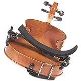 Bonmusica Schulterstütze 1/2 Metall verstellbar für Linkshänder - 5