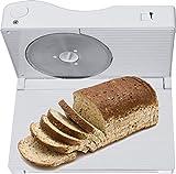 Melissa 16310186 Allesschneider für Linkshänder Wellinschliffmesser klappbar Brotschneidemaschine Brotmaschine weiß - 4