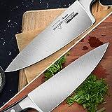 SKY LIGHT Fleischmesser Kochmesser 15cm Chefmesser Klein Küchenmesser Profi Universalmesser Allzweckmesser Scharfe Klinge Gesamtlänge 29cm - 3