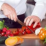 SKY LIGHT Fleischmesser Kochmesser 15cm Chefmesser Klein Küchenmesser Profi Universalmesser Allzweckmesser Scharfe Klinge Gesamtlänge 29cm - 7