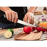 SKY LIGHT Messer Kochmesser Profi 15cm Allzweckmesser Gemüsemesser Scharf Küchenmesser Obstmesser - 3