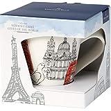 Villeroy & Boch Cities of the World Kaffeebecher London, 300 ml, Höhe: 11 cm, Premium Porzellan, rot - 3