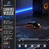 CSL - Gaming Maus für Rechts- und Linkshänder - 9 programmierbare Tasten - Mouse Flawless Pixart 3310 Sensor - 5 DPI Stufen - 5 Benutzerprofile - RGB Illumination - 5000 DPI - 4