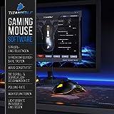 CSL - Gaming Maus für Rechts- und Linkshänder - 9 programmierbare Tasten - Mouse Flawless Pixart 3310 Sensor - 5 DPI Stufen - 5 Benutzerprofile - RGB Illumination - 5000 DPI - 5